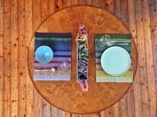 Textile Tischdekoration