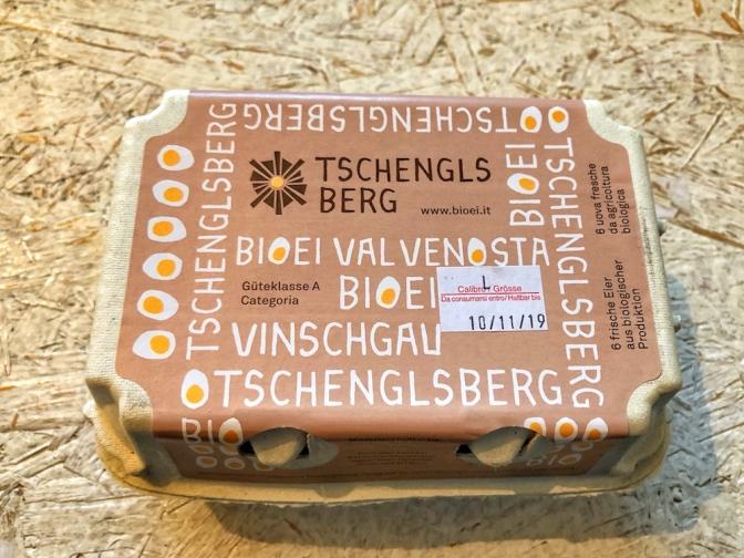 Eier verpackt Psegghof