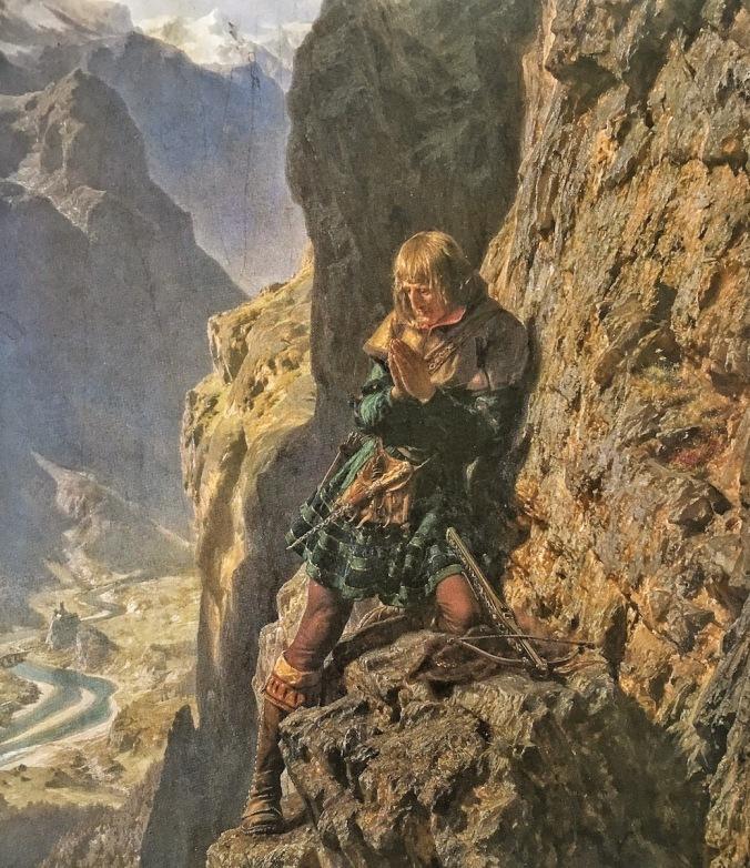 Maximilian in der Martinswand