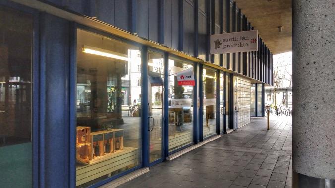 Geschäftsloal Sardinienprodukte Innsbruck