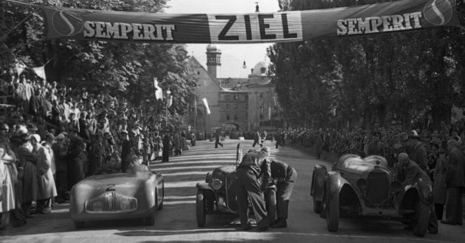 Autorennen Innsbruck 1948