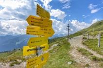 Obernberg, Bergeralm Lichtsee Weg Schild Kopie