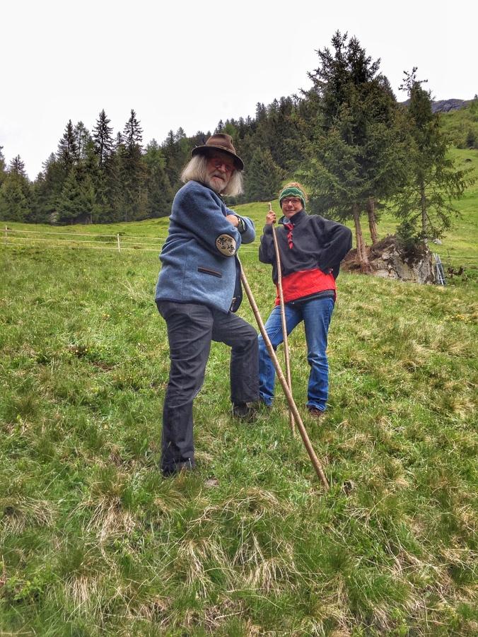 Margit Gstrein und Werner Kräutler