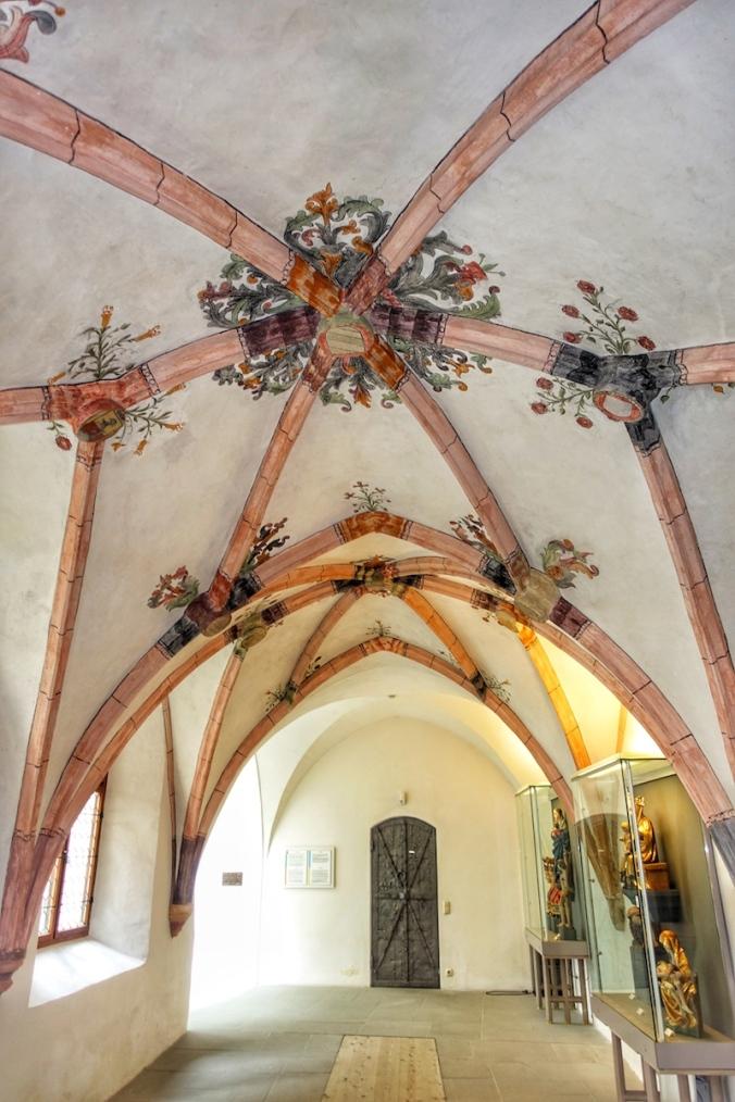Augustinermuseum Rattenberg Kreuzgang