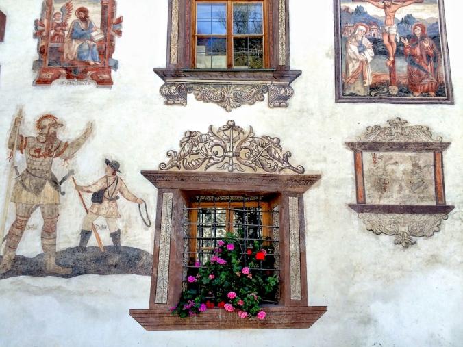 Fresko am Gemeindehaus
