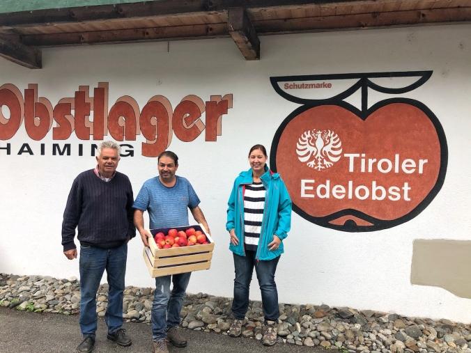 Hubert Wammes, Rudi Wammes und Alexandra Harrasser