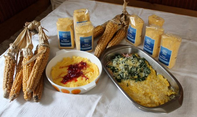 Mais-Polenta vom Biohof Glatzl