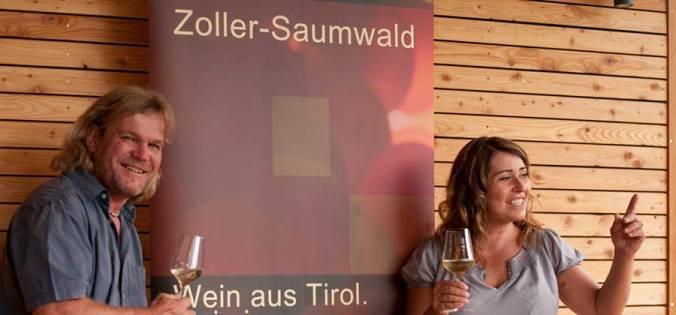 Peter Zoller, Elisabeth Saumwald