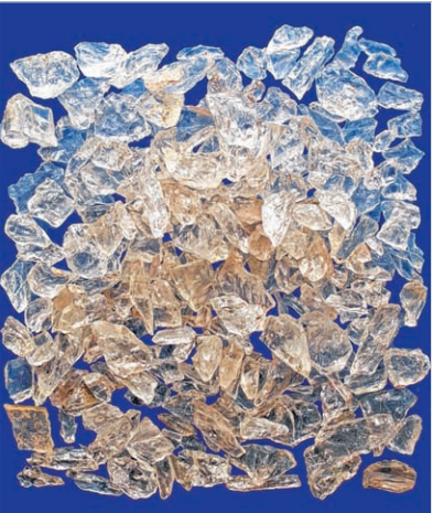 Riepenkar Bergkristallabschläge
