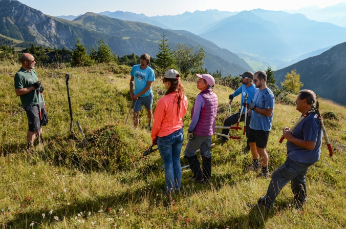 Freiwilligenprojekt im Gschnitztal