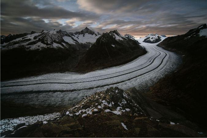 Aletschgletscher, Schweiz ©B.Ritschel