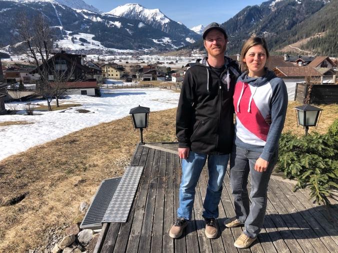 Florian Senftlechner mit Freundin