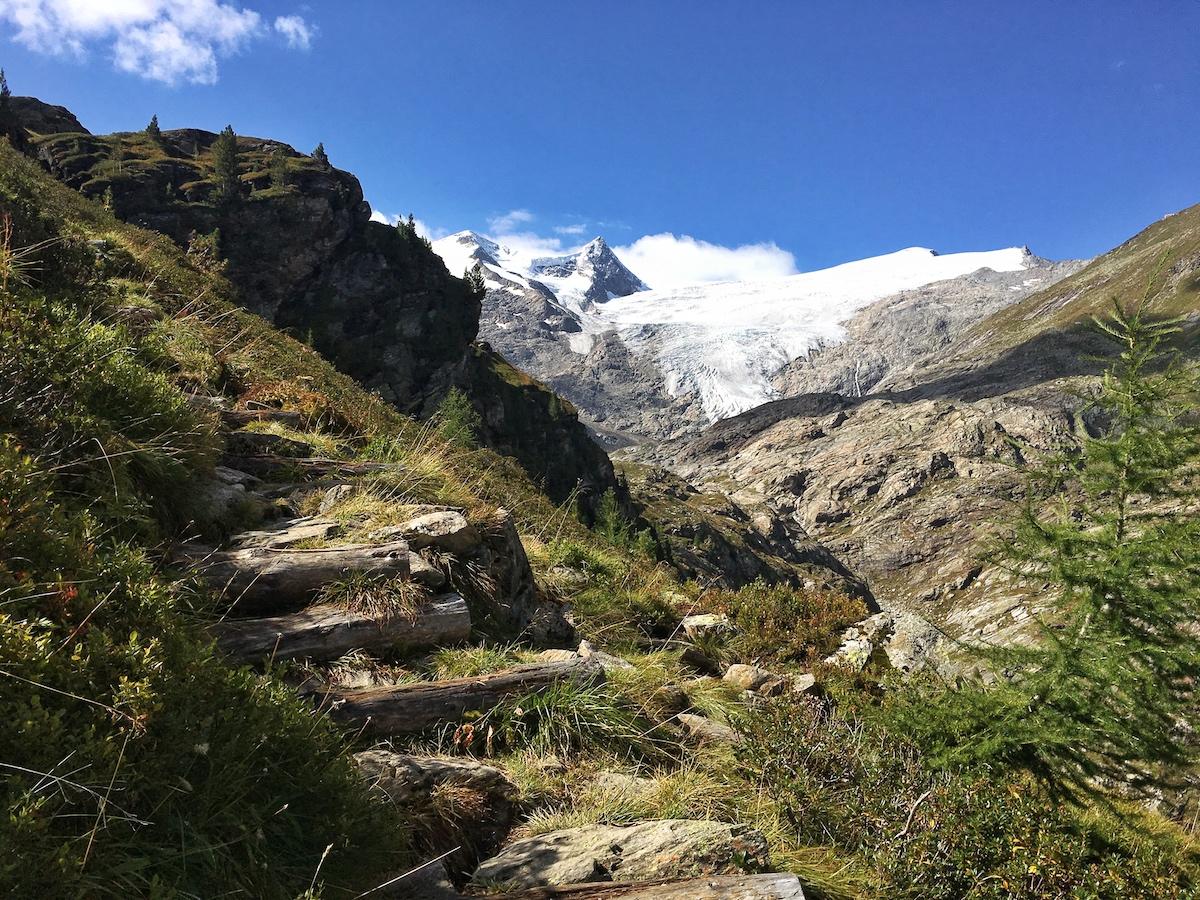 Aufstieg Gletscherpfad Innergschlöss