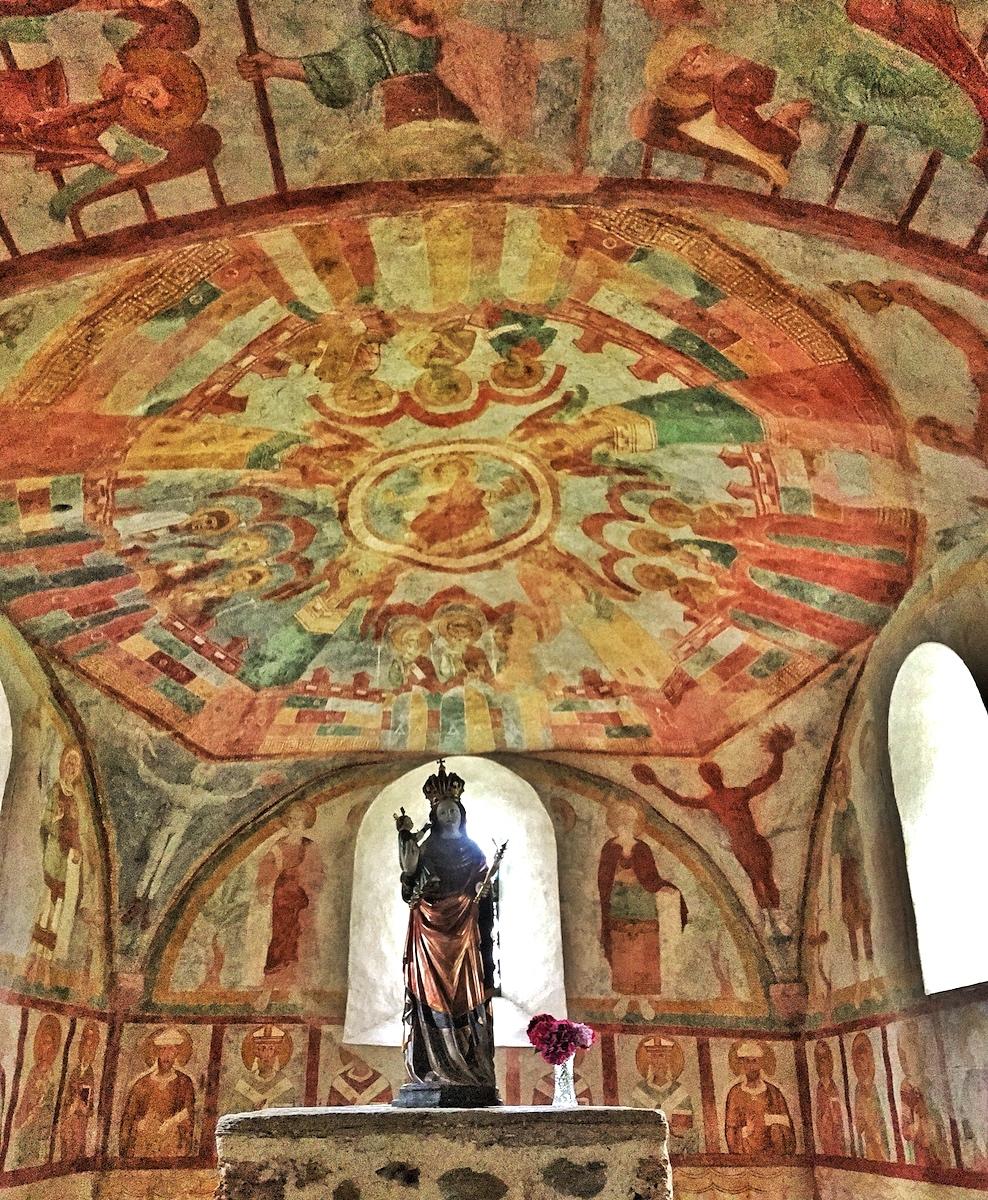 Oberer Chor Fresken St. Niklaus, Matrei